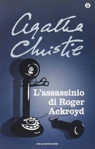 Libro L' assassinio di Roger Ackroyd Agatha Christie