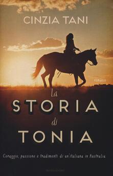 La storia di Tonia - Cinzia Tani - copertina