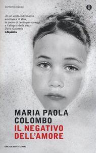 Libro Il negativo dell'amore M. Paola Colombo