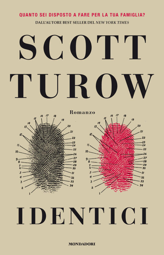 Identici - Scott Turow - copertina