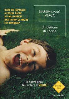 Un gettone di libertà - Massimiliano Verga - copertina