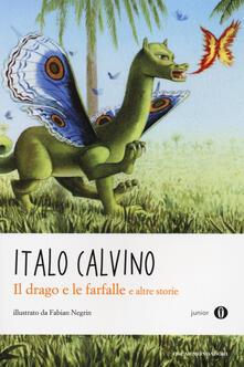 Il drago e le farfalle e altre storie - Italo Calvino - copertina