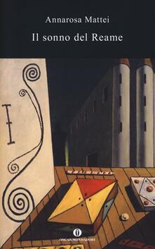 Il sonno del reame - Annarosa Mattei - copertina