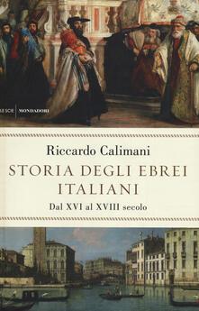 Antondemarirreguera.es Storia degli ebrei italiani. Vol. 2: Dal XVI al XVIII secolo. Image