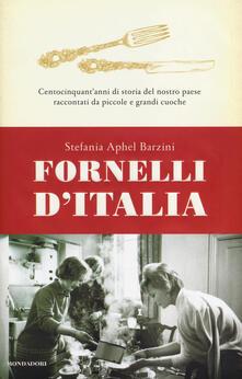 Fornelli d'Italia. Centocinquant'anni di storia del nostro paese raccontati da piccole e grandi cuoche - Stefania A. Barzini - copertina