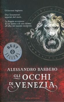 Gli occhi di Venezia - Alessandro Barbero - copertina