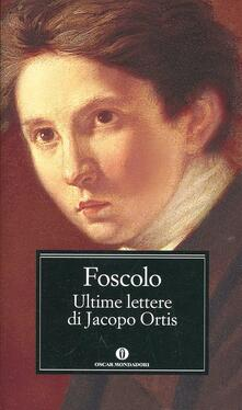 Charun.it Ultime lettere di Jacopo Ortis Image