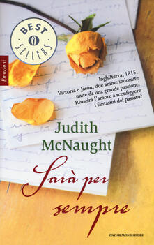 Sarà per sempre - Judith McNaught - copertina