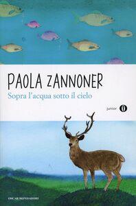 Libro Sopra l'acqua sotto il cielo Paola Zannoner