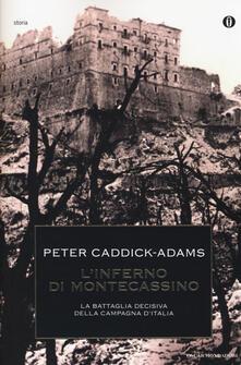 L' inferno di Montecassino - Peter Caddick-Adams - copertina