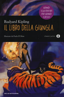 Il libro della giungla - Rudyard Kipling - copertina