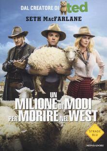 Un milione di modi per morire nel West - Seth MacFarlane - copertina