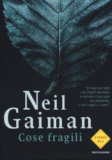 Cose fragili - Neil Gaiman - copertina