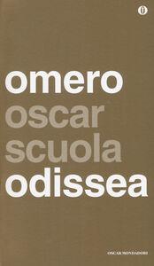 Libro Odissea. Testo greco a fronte Omero