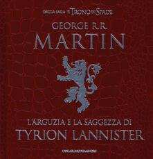 Letterarioprimopiano.it L' arguzia e la saggezza di Tyrion Lannister Image