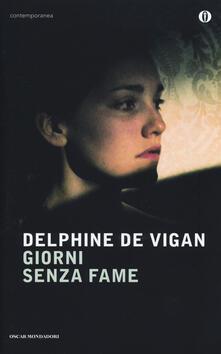 Giorni senza fame - Delphine de Vigan - copertina