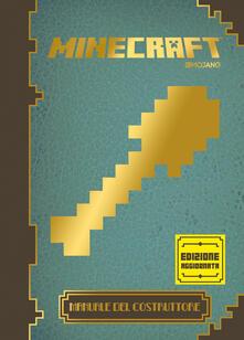 Minecraft Mojang. Manuale del costruttore - copertina
