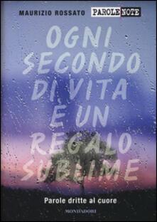 Parole dritte al cuore - Maurizio Rossato - copertina