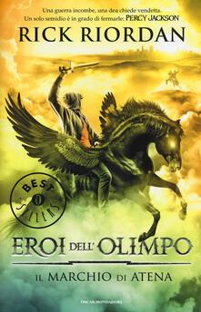 Il marchio di Atena. Eroi dell'Olimpo. Vol. 3 - Rick Riordan - copertina