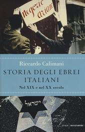Storia degli ebrei italiani. Vol. 3: Nel XIX e nel XX secolo.