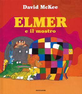 Libro Elmer e il mostro David McKee 0