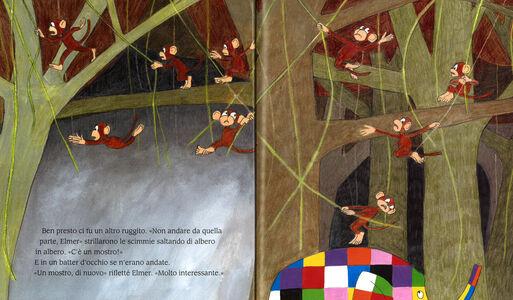 Libro Elmer e il mostro David McKee 1
