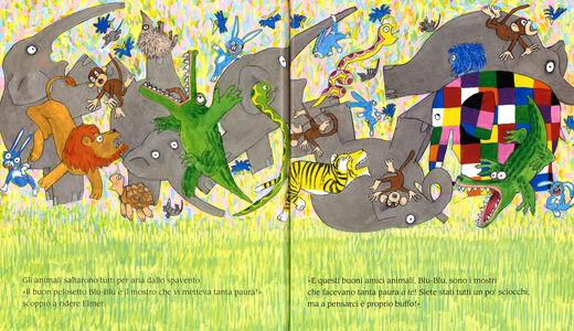 Libro Elmer e il mostro David McKee 4