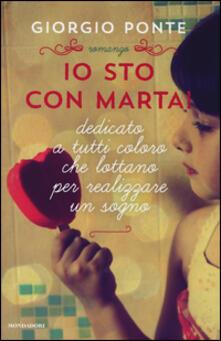 Io sto con Marta! - Giorgio Ponte - copertina