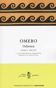 Foto Cover di Odissea. Testo greco a fronte. Vol. 1: Libri I-IV., Libro di Omero, edito da Mondadori