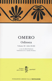 Odissea. Testo greco a fronte. Vol. 3: Libri IX-XII.