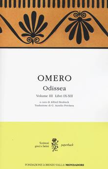 Camfeed.it Odissea. Testo greco a fronte. Vol. 3: Libri IX-XII. Image