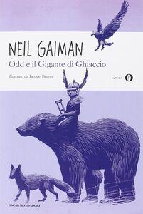 Libro Odd e il gigante di ghiaccio Neil Gaiman