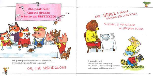 Foto Cover di Tutti a tavola!, Libro di Richard Scarry, edito da Mondadori 2
