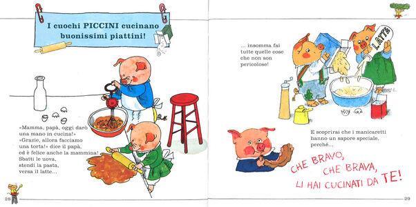 Foto Cover di Tutti a tavola!, Libro di Richard Scarry, edito da Mondadori 4