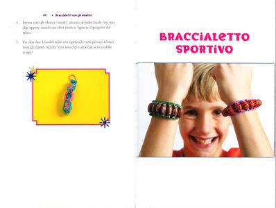 Foto Cover di Braccialetti con gli elastici, Libro di John McCann,Becky Thomas, edito da Mondadori 4
