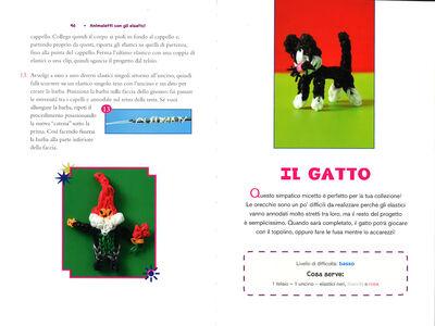 Libro Animaletti con gli elastici Becky Thomas , Monica Sweeney 3