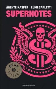 Libro Supernotes Agente Kasper , Luigi Carletti