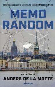 MemoRandom - Anders De La Motte - copertina