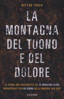 La montagna del tuono e del dolore - Héctor Tobar - copertina