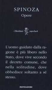 Foto Cover di Opere, Libro di Baruch Spinoza, edito da Mondadori