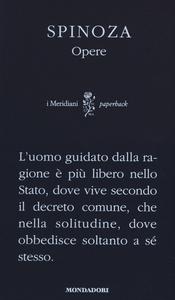 Libro Opere Baruch Spinoza