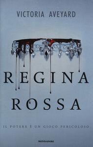 Libro Regina rossa Victoria Aveyard