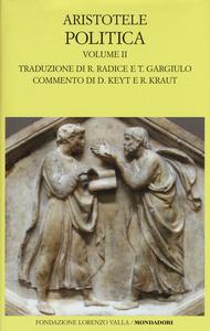 Libro Politica. Testo greco a fronte. Vol. 2: Libri V-VIII. Aristotele