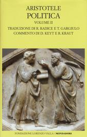 Politica. Testo greco a fronte. Vol. 2: Libri V-VIII.