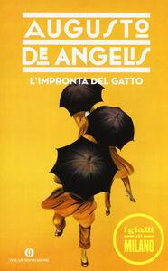 Libro L' impronta del gatto Augusto De Angelis