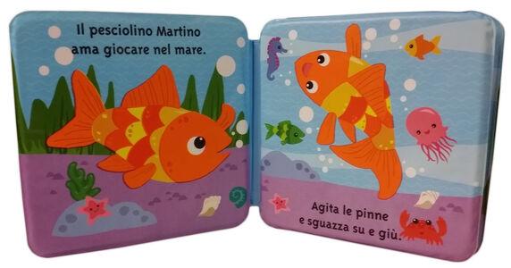 Foto Cover di Martino il pesciolino, Libro di  edito da Mondadori 1