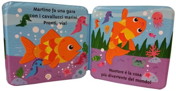 Foto Cover di Martino il pesciolino, Libro di  edito da Mondadori 2