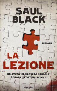 Libro La lezione Saul Black
