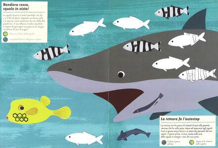 Libro Creature dell'oceano. Il mio albo della natura. Con adesivi Olivia Cosneau 2