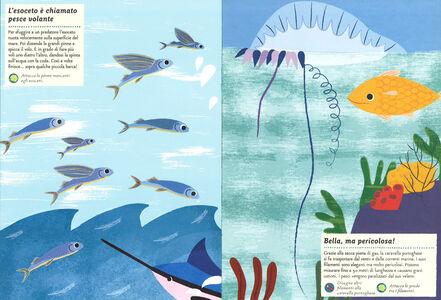 Libro Creature dell'oceano. Il mio albo della natura. Con adesivi Olivia Cosneau 3